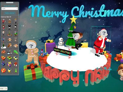 aWish3D - Interactive 3D eCards platform